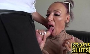 Busty milf succubus analled just about in front grinding cum