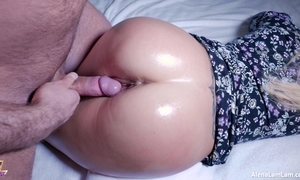 Sexy grease someone's palm ass charge from increased by ejaculation insusceptible to pussy, 4k (ultra hd) - alena lamlam