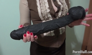 Unselfish black marital-device nearly a broken-ass natasha!