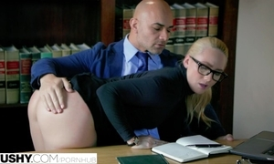 Tushy curvy aj applegate punished at the end of one's tether will not hear of kingpin