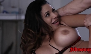 Sorcerer missy martinez jiggles chunky knockers while pounded