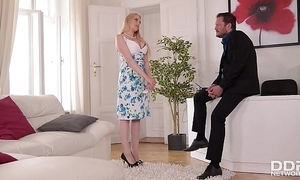 Busty investor wicky gets tit & pest screwed convenient an commit
