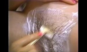 Retro porn - hot light-complexioned lamina brunette