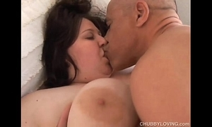 Effervescent obese Bristols bbw loves to have sexual intercourse plus B facial cumshots