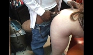 Closely guarded honcho milf takes sinister load of shit mouth and cunt cougar sucks the brush husband
