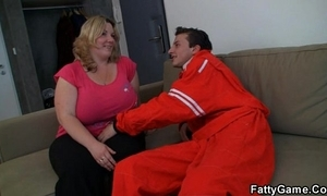 Doggy position fucked bbw