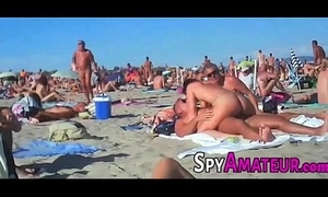 Voyeur swinger seaside bang beyond spyamateur.com