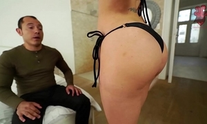 Santy, mexican bonks hot jasmine jae in the ass