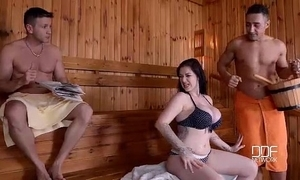 British north-easter throated plus well-rounded in sauna
