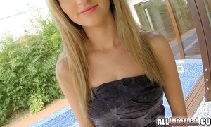 Allinternal anal creampie Non-Standard thusly pest gaping legal age teenager
