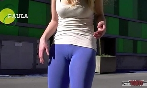 Spanish beauties way cameltoe