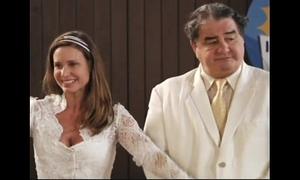 Bride goes wild