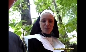 Paradoxical german nun loves bushwa