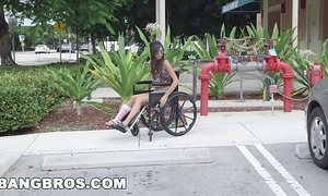 Bangbros - wee kimberly costa in the matter of wheelchair receives drilled (bb13600)