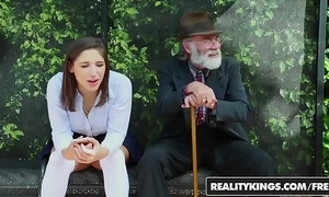 Realitykings - boyhood exalt enormous knobs - (abella danger) - trainer bench creepin