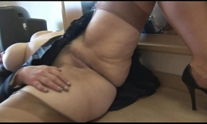 Take charge mature spoil cameltoe and chesty twat move