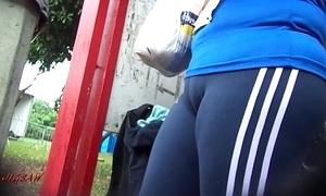 For all to see booty culo bunda rabuda suplex spandex lycra voyeur pawg - liberality 22