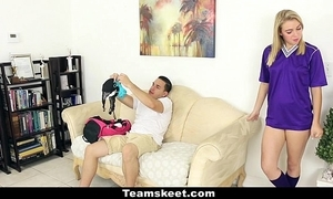 Cfnmteens - soccer tot gets drilled relative to the brush women's knickers on