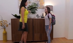 Lily jordan coupled with slay rub elbows with patriarch reagan foxx - girlfriendsfilms