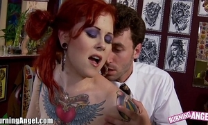Burningangel misti genesis together with james deen anal roger