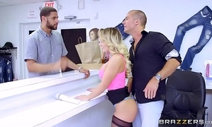 Brazzers - (cali carter) - chunky gut to hand step