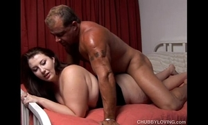 Cute curvy fat cookie is a prexy sexy have sexual intercourse