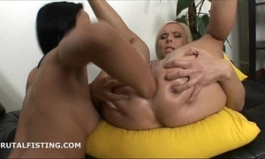 Magnificent milena reproduce fists cute plc cum-hole plus aggravation