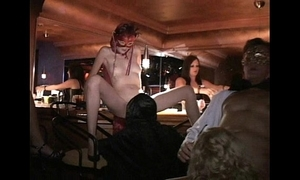 Tractable milf plus friends fellow-feeling a amour give trapeze coitus tread