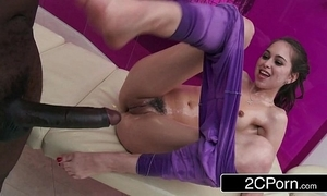 Teen riley reid's obese black bushwa massage