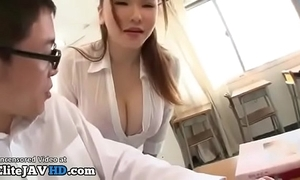 Japanese milf motor coach titsfuck with casual student - full to hand elitejavhd.com