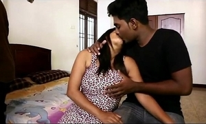 Hot desi bgrade foursome - boob roll oneself added to sterile humping