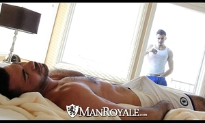 Manroyale - peeping stud receives fucked at the end of one's tether a confessor