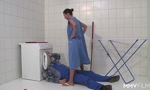 Mmv films german mummy get away someone's skin plumber