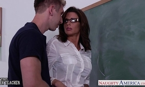 Stockinged sex teacher veronica avluv fuck encircling agglomeration