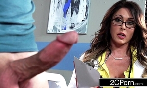 Grand shove around doctor jessica jaymes milking the brush turns out that