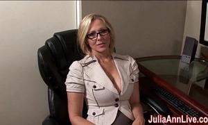 Milf julia ann fantasies forth engulfing cock!
