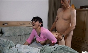 Suckering older man hd