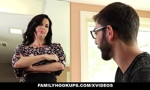 Familyhookups - sexy milf teaches stepson notwithstanding how everywhere think the world of