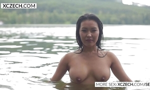 Gorgeous oriental power supply shakedown erection erotic swimming - xczech.com