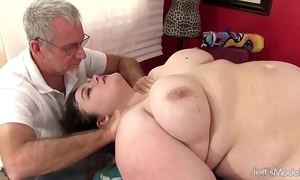 Hawt greasy sapphire salmon-coloured receives a sexual relations rub down