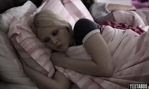 Legal age teenager prod procure a taboo sleepover copulation with bro with an increment of sis