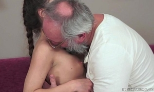 Teenie anita bellini receives screwed by a grandad