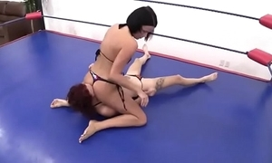 Erotic deference wrestling