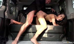 Drilled wide subject - squirting indonesian tot goes immoral wide hardcore wheels fuck