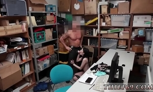 Cookie copper cook jerking interrogation suspect was putrefacient red