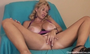 Chubby mamma tampa milf charlee run after sextoy deception
