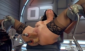 Solely appliance milf screwed in the air pussy added to rump