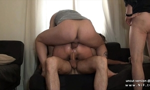 Compacted titted rain french floosie firm photocopy permeated in a group sex